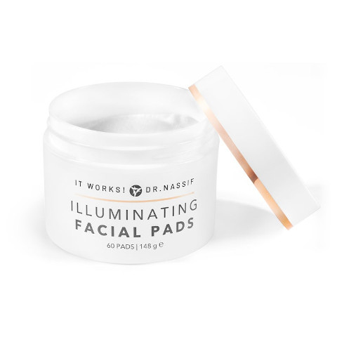 It Works Illuminating Facial Pads - Tampons exfoliant