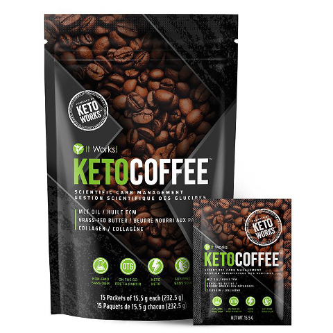 It Works Keto Coffee - Optimiseur de cétose