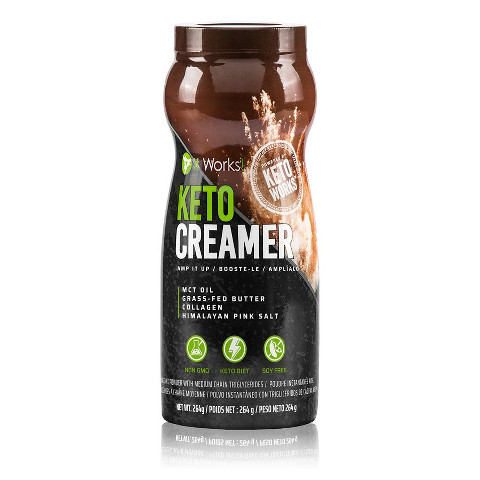 It Works Keto Creamer
